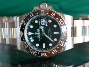 Rolex Root Beer GMT Rose Gold 126715CHNR