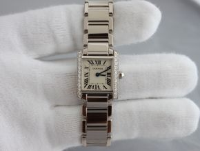 Cartier Lady Tank White Gold and Diamond