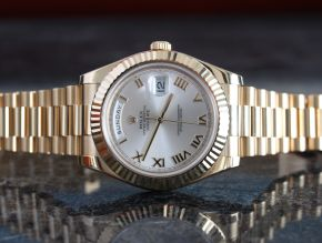 Rolex President Day Date II 218238 41mm Yellow Gold
