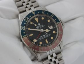 Rolex GMT 1675 Pepsi Turquoise/Pink