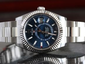 Rolex Skydweller Stainless Steel Blue