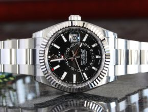 Rolex Skydweller Stainless Steel Black Dial