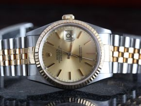 Rolex 16233 DateJust Steel and Gold