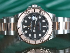 Rolex Yachtmaster 116621 Rose Gold and Steel