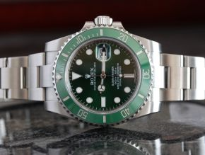 Rolex Submariner 116610LV Green Preowned